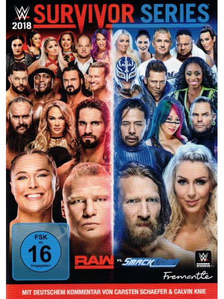 WWE - Survivor Series 2018 (DVD)