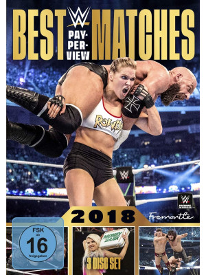 WWE - The Best PPV Pay Per View Matches 2018 (3x DVD)