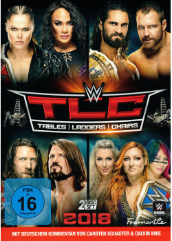 WWE - TLC Tables Ladders Chairs 2018 (2x DVD)