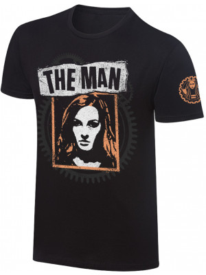 WWE - Becky Lynch - The Man Photo (Authentic T-Shirt)