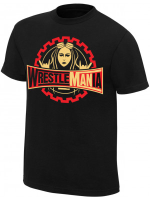 WWE - Becky Lynch - WrestleMANia (Authentic T-Shirt)
