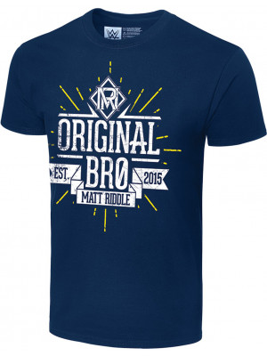 WWE - Matt Riddle - Original Bro Est. 2015 (Authentic T-Shirt)