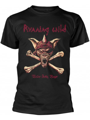 Running Wild - Under Jolly Roger Adrian Crossbones (T-Shirt)