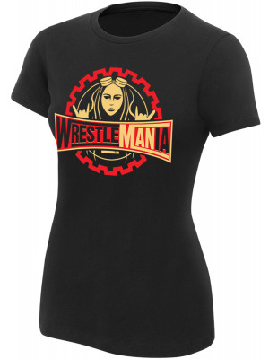 WWE - Becky Lynch - Wrestlemania (Authentic Womens Girlie T-Shirt)