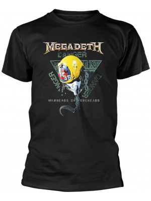 Megadeth - VC35 Vic Rattlehead Warheads On Foreheads (T-Shirt)