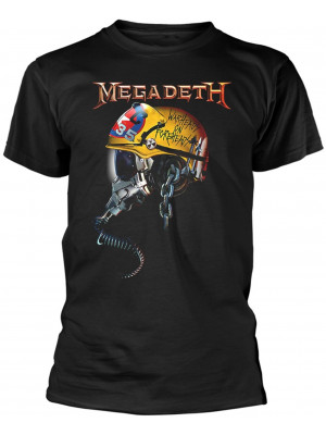 Megadeth - Full Metal Vic Rattlehead Warheads On Foreheads (T-Shirt)