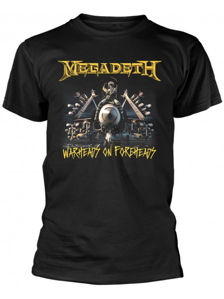 Megadeth - Afterburn Warheads On Foreheads (T-Shirt)