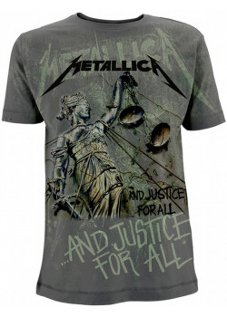 Metallica - And Justice For All Neon (All Over Print T-Shirt)