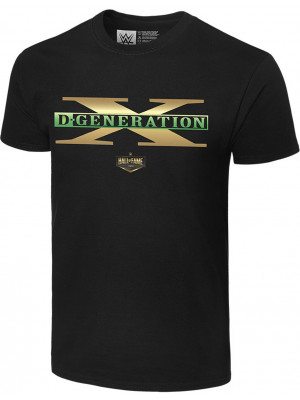 WWE - D-Generation X - Three Words Hall Of Fame 2019 (Authentic T-Shirt)