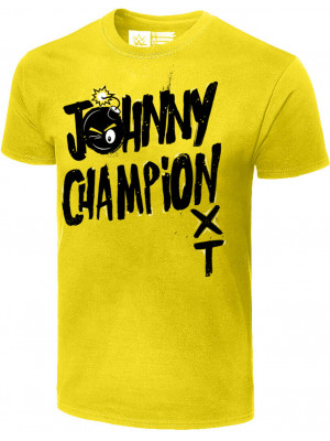 WWE - Johnny Gargano - Johnny Champion (Authentic T-Shirt)