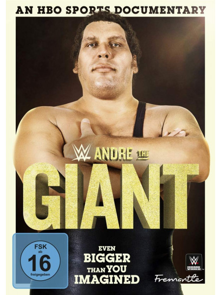 WWE - Andre The Giant - Even Bigger Than You Imagined (DVD)