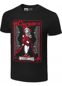 WWE - Charlotte Flair - Ms. Wrestlemania (Authentic T-Shirt)
