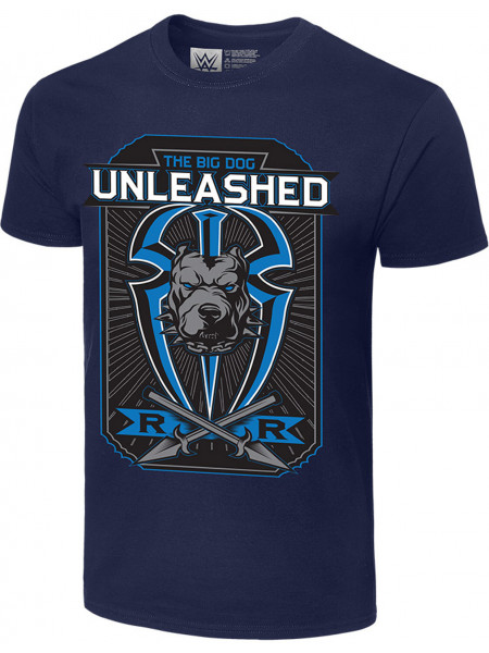 WWE - Roman Reigns - The Big Dog Unleashed (Authentic T-Shirt)
