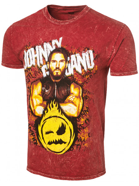 WWE - Johnny Gargano - Johnny Champion (Authentic Mineral Wash T-Shirt)