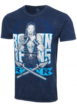 WWE - Roman Reigns - The Big Dog Unleashed (Authentic Mineral Wash T-Shirt)