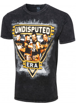 WWE - The Undisputed Era - Shock The System (Authentic Mineral Wash T-Shirt)