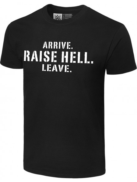 WWE - Stone Cold Steve Austin - Arrive. Raise Hell. Leave. (Authentic T-Shirt)