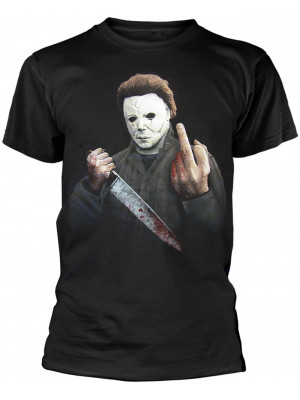 Halloween - Michael Myers Middle Finger (T-Shirt)
