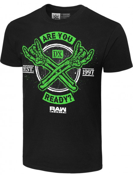 WWE - D-Generation X - Are You Ready RAW Reunion (Authentic T-Shirt)