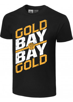 WWE - Adam Cole - Gold Gold Bay Bay (Authentic T-Shirt)