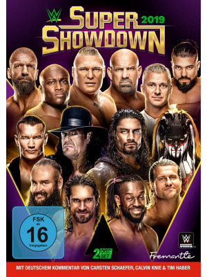 WWE - Super Showdown 2019 (2x DVD)