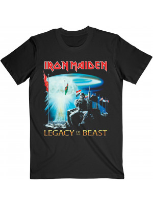 Iron Maiden - Two Minutes To Midnight Legacy Of The Beast American Tour 2019 (T-Shirt)