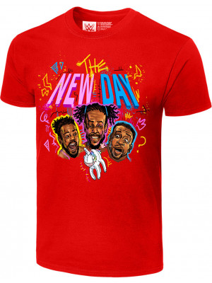 WWE - The New Day - Unicorn Balloon (Authentic T-Shirt)