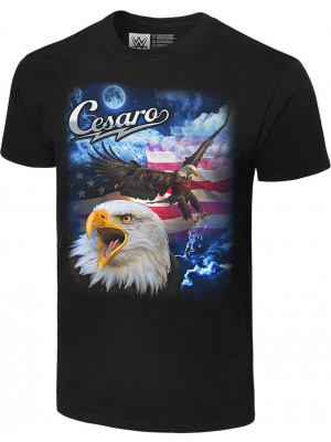 WWE - Cesaro - We The People (Authentic T-Shirt)