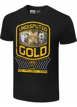 WWE - The Undisputed Era - Undisputed Gold (Authentic T-Shirt)