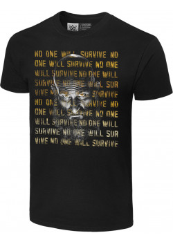 WWE - Tommaso Ciampa - No One Will Survive (Authentic T-Shirt)