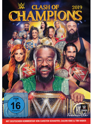 WWE - Clash Of Champions 2019 (DVD)