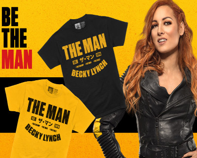 BECKY LYNCH - The Man Est. 2018 - CLICK HERE!